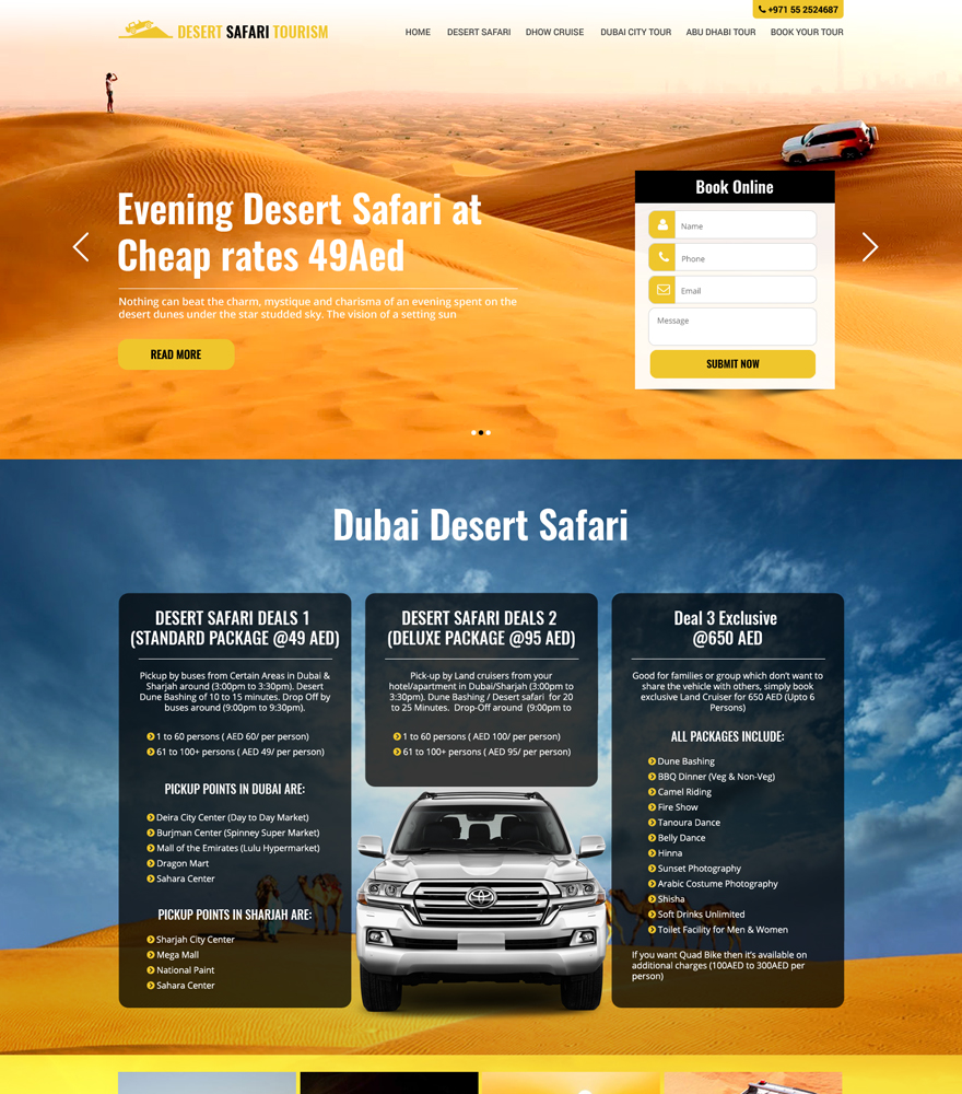 Desert Safari Dubai Rates